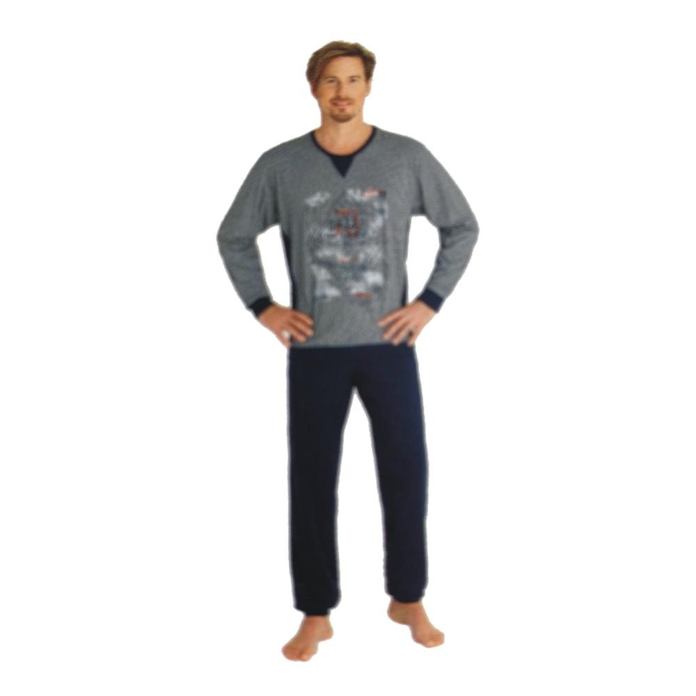 "Herren Pyjama ""Premium Cotton"" 53367"