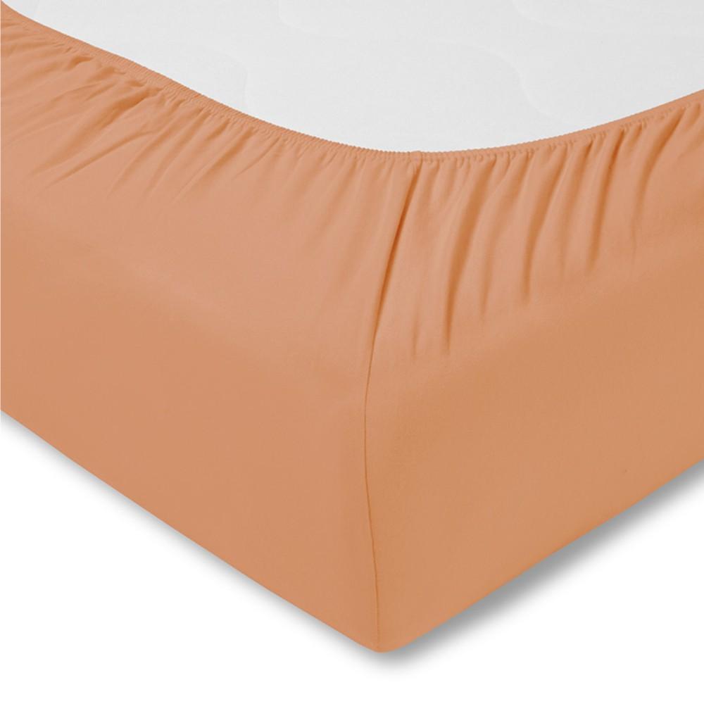 Kinder-Spannbetttuch - Feinjersey 450 apricot