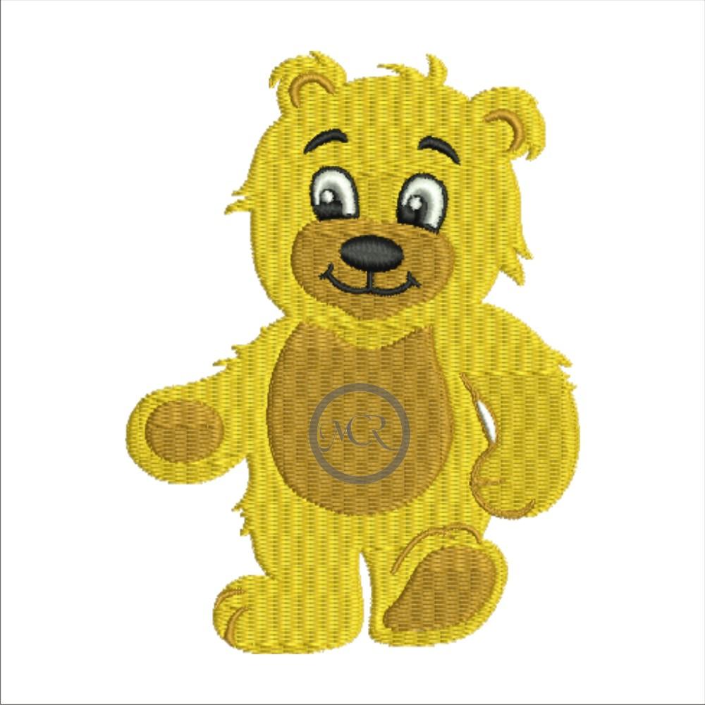 Stickerei Teddy auf versch. Frottierwaren