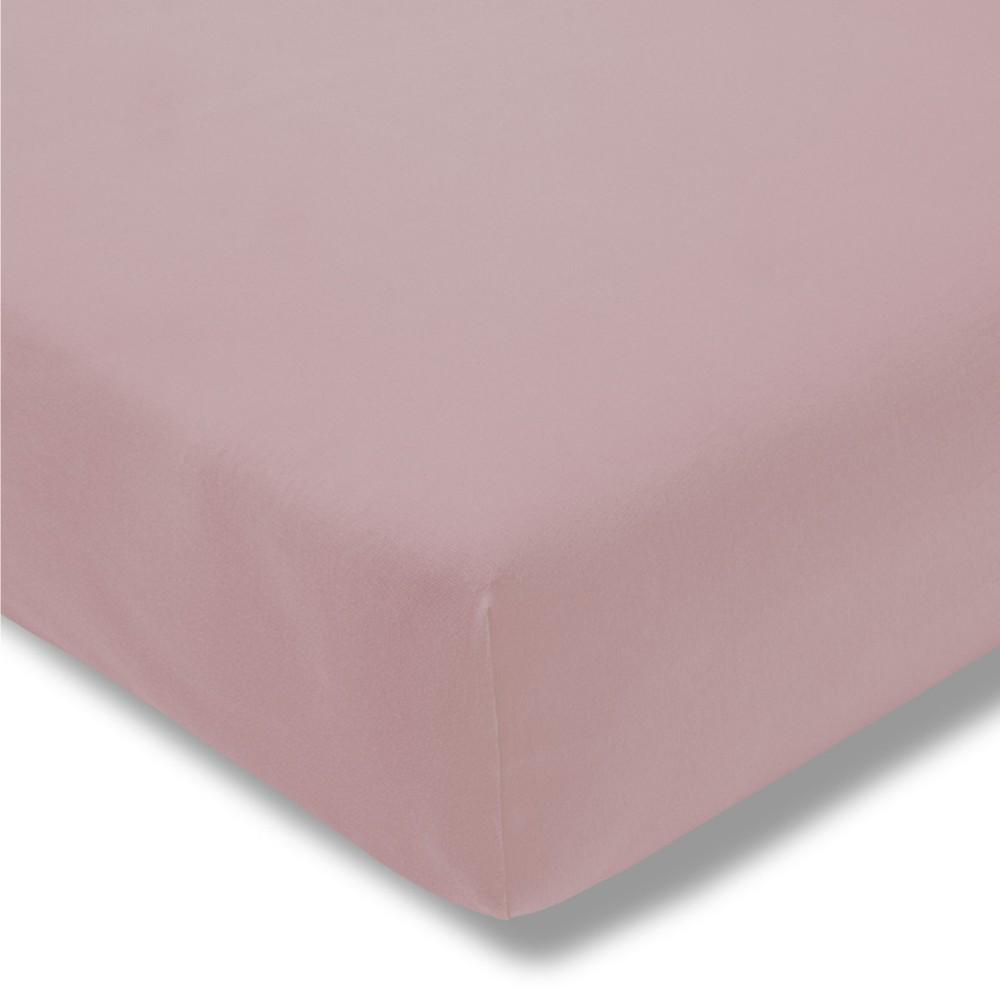 Kinder-Spannbetttuch - Feinjersey 400 rosa