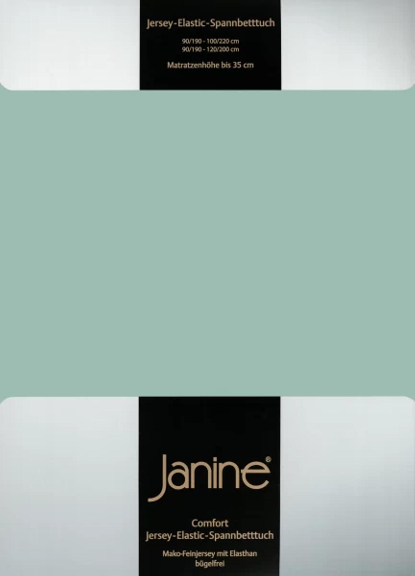 Spannbetttuch Comfort Elastic - rauchgrün