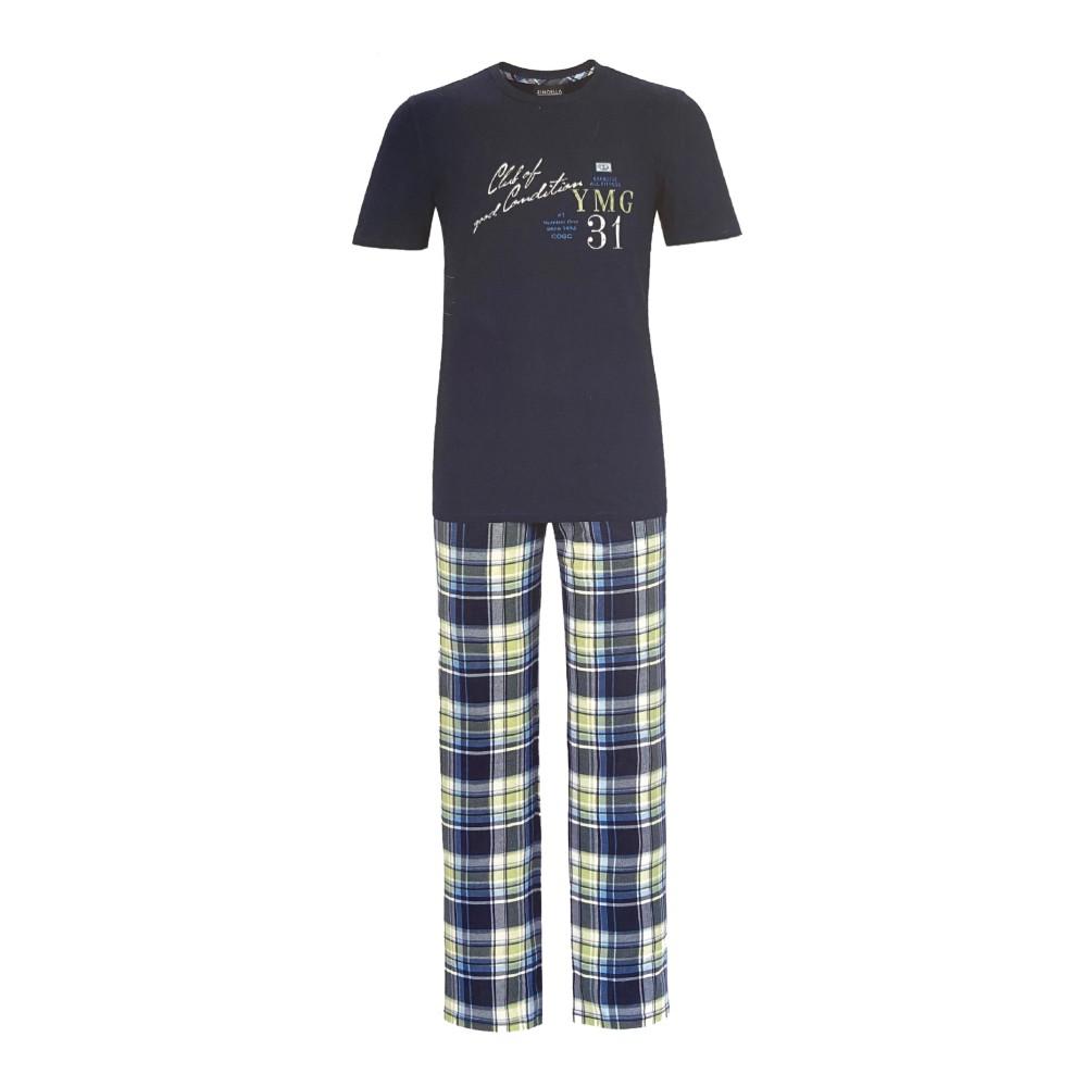 "Herren Pyjama ""Baumwolle"" 9241201"