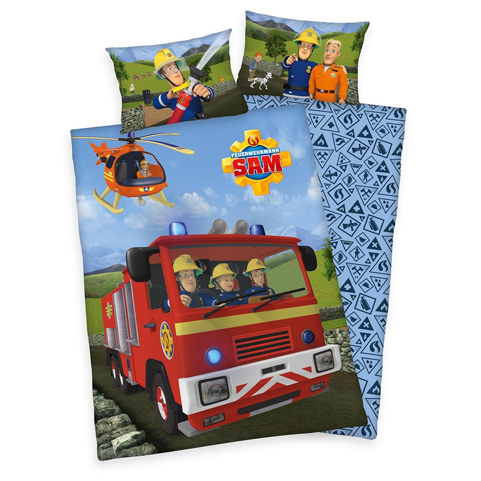 """Bettwäsche """"Feuerwehrmann Sam"""""""