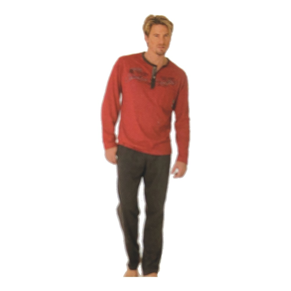 "Herren Pyjama ""Premium Cotton"" 52917"