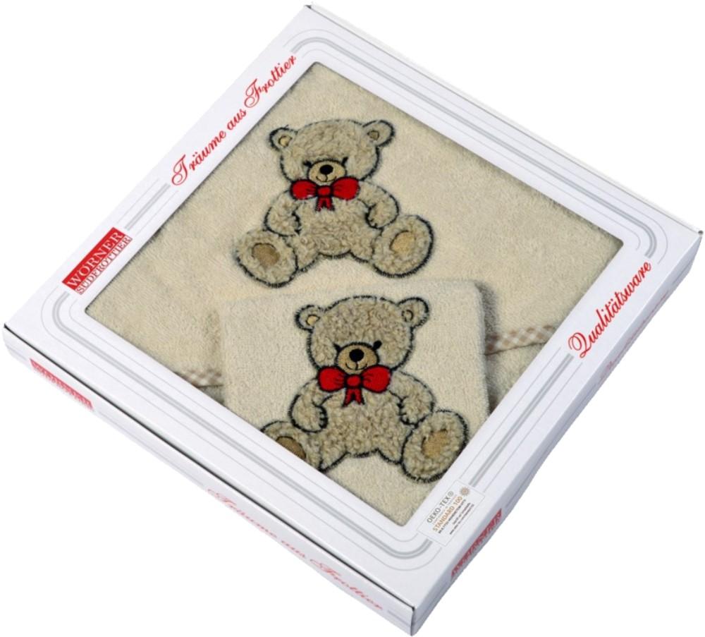 Geschenk-Set 2 tlg. - Teddy II natur