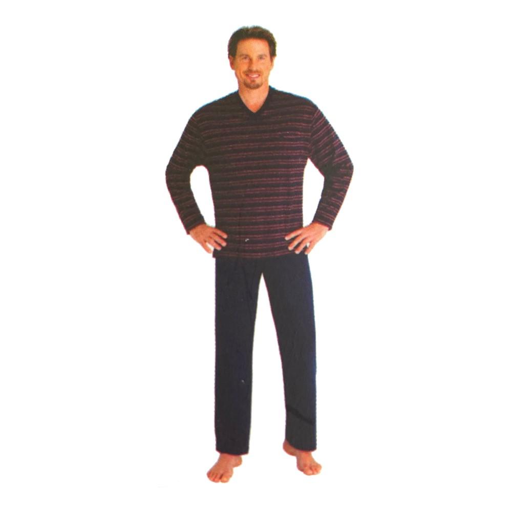 "Herren Pyjama ""Premium Cotton"" 53362"