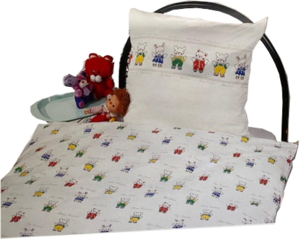 Bettwäsche - Hase und Teddy