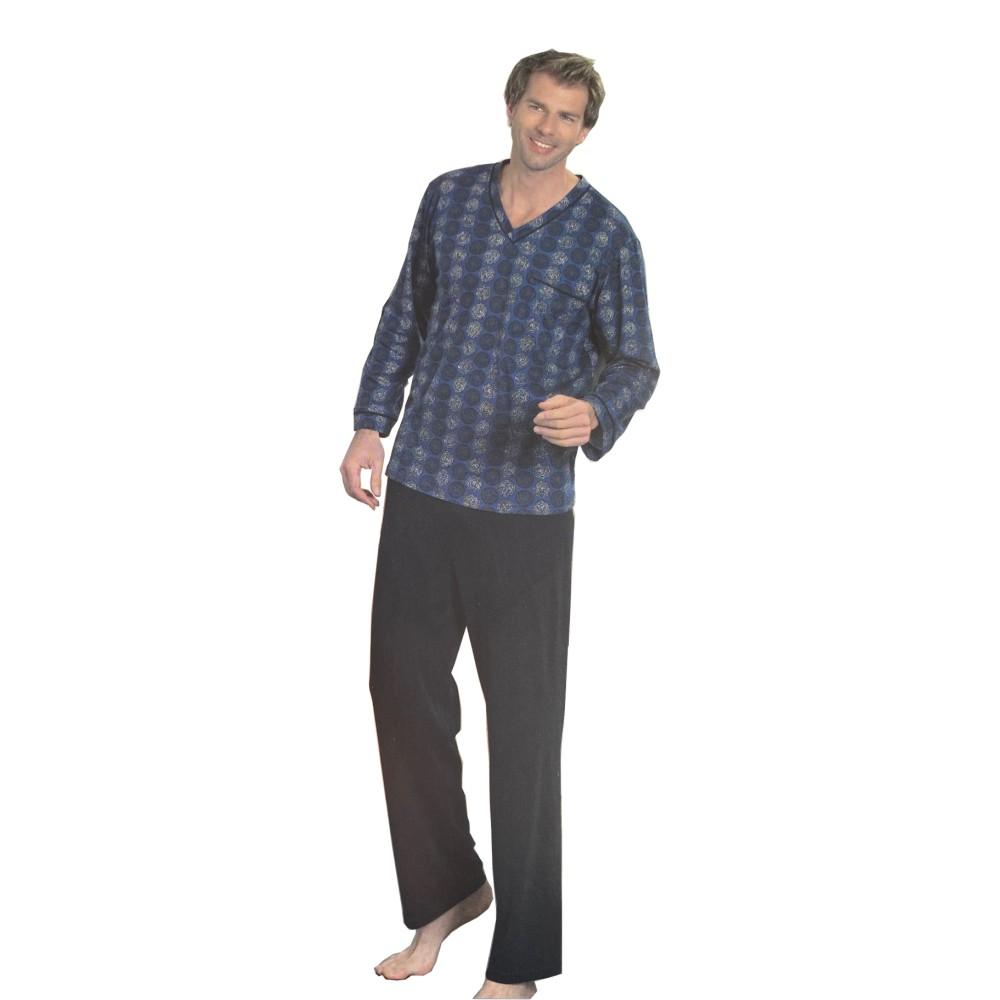 "Herren Pyjama ""Baumwolle"" 0441224"