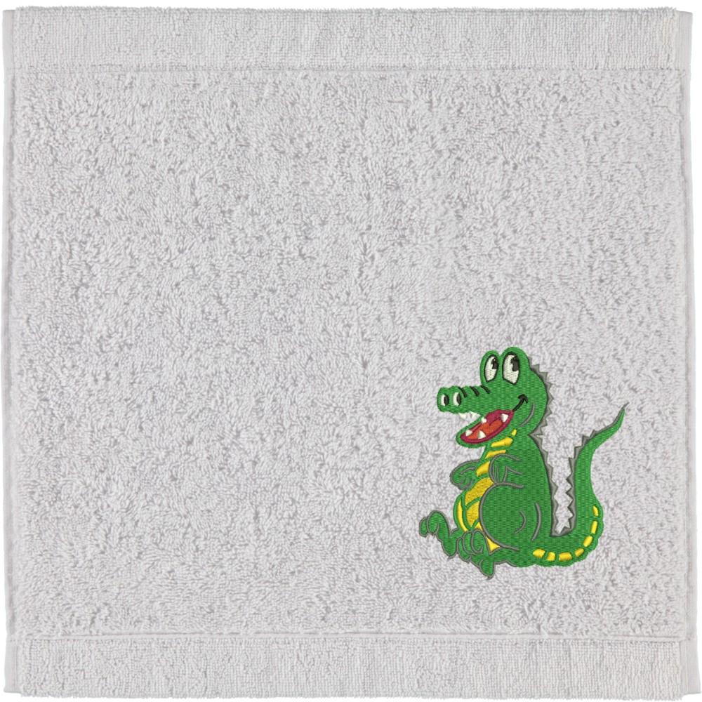 Seiflappen Krokodil in verschiedenen Farben